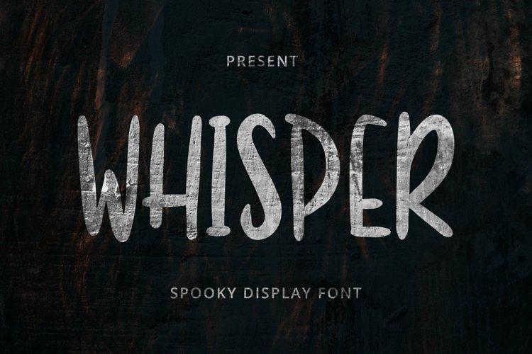 Whisper Font example image 1