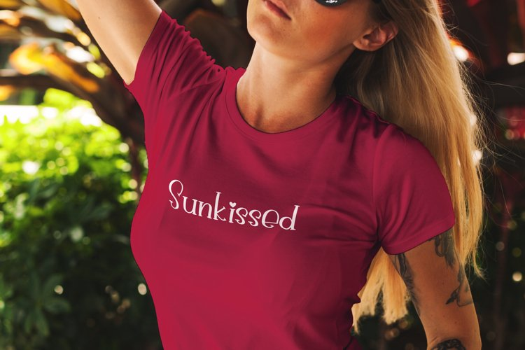 Sunkissed svg example image 1