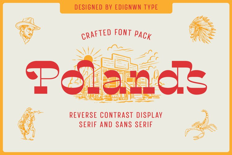 Polands - Display Font example image 1