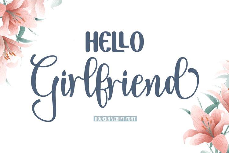Hello Girlfriend example image 1