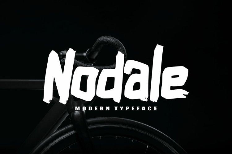 Nodale Modern Typeface example image 1
