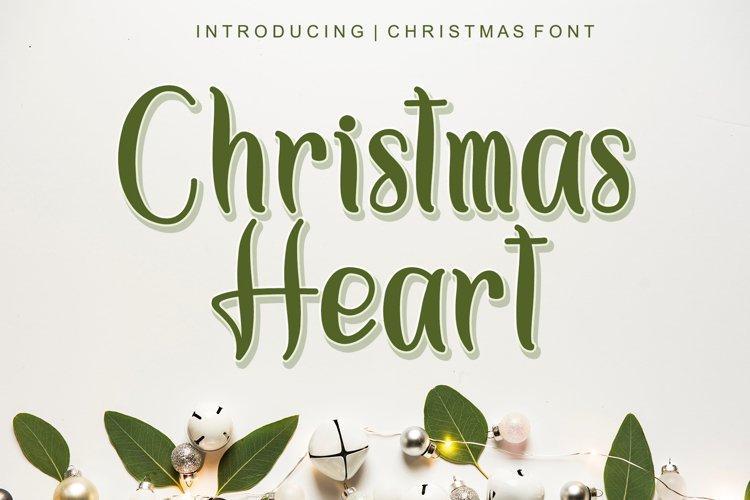 Christmas Heart example image 1