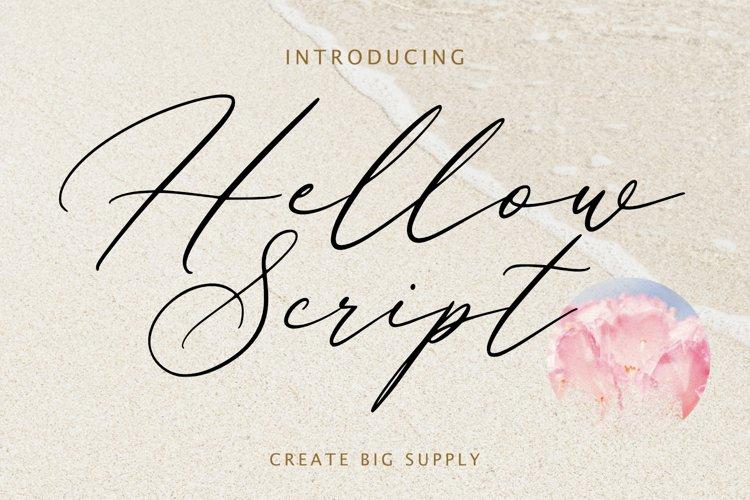 Hellow Script
