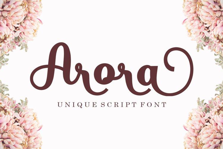 Arora example image 1
