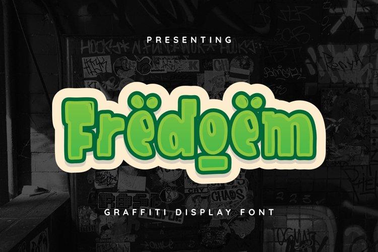 Fredoem Font example image 1