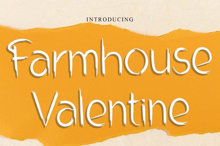 Farmhouse Valentine example image 1