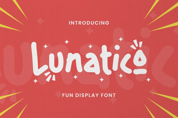 Lunatico Font example image 1