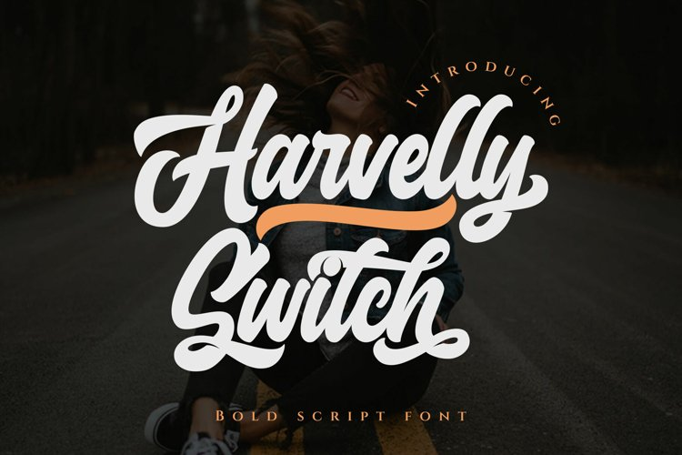 Haverlly Switch - Bold Script example image 1