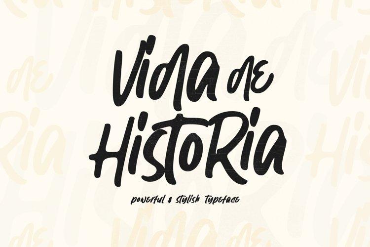 Vida de Historia - Stylish Typeface example image 1