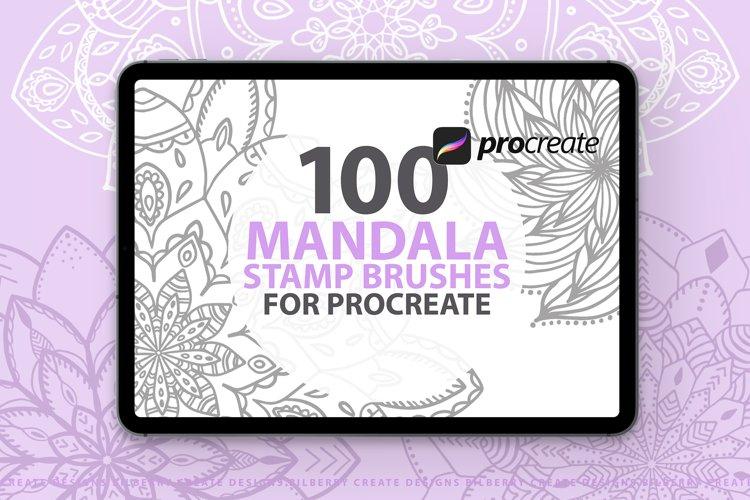 100 Mandala Stamp Brushes