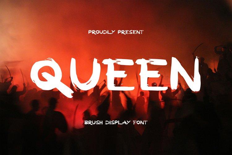 Queen Font example image 1