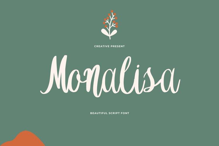 Monalisa Font example image 1