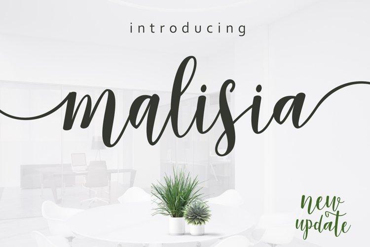 Malisia Script example image 1