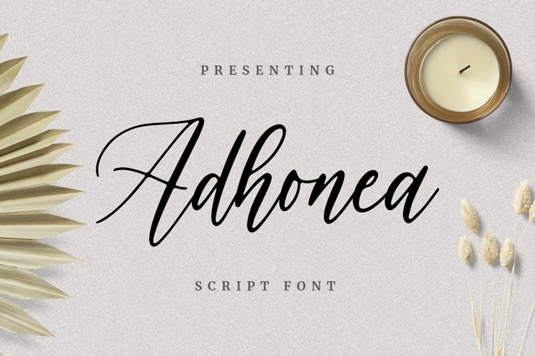 Adhonea Font example image 1