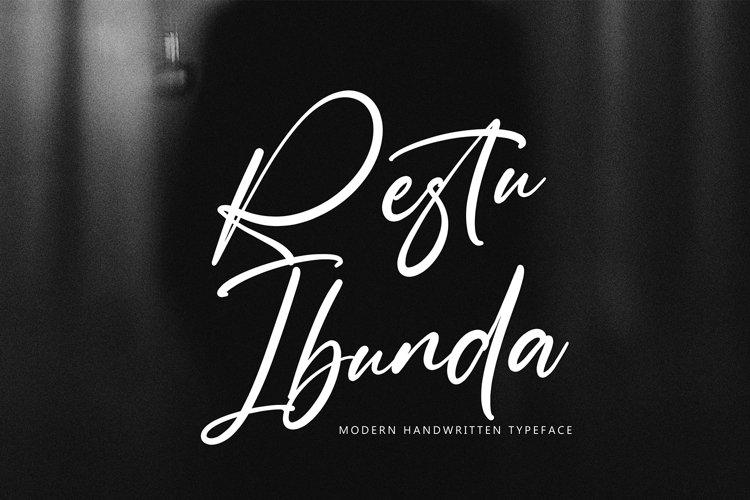 Restu Ibunda example image 1