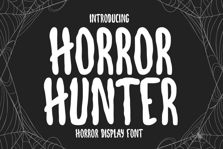 Horror Hunter- Horror Display Font example image 1