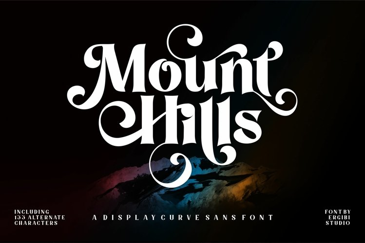 Mount Hills - Display Curve example image 1