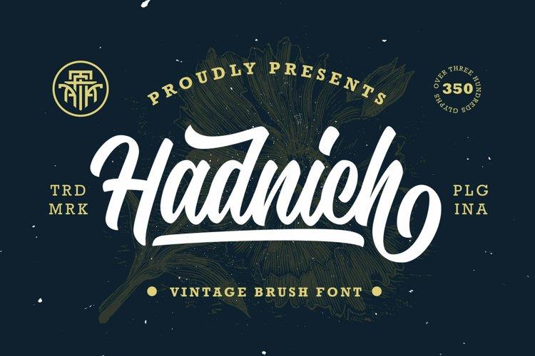 Hadnich - Modern Script example image 1