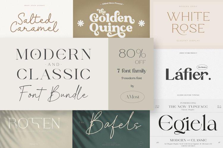 Modern & Classic Font Bundle example image 1
