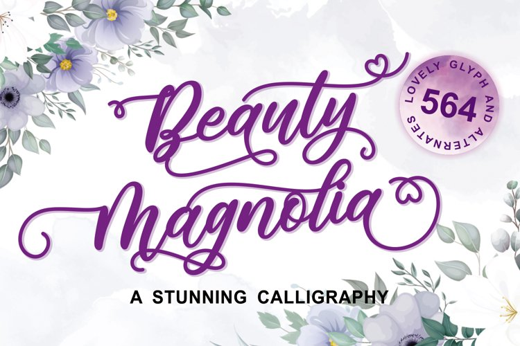 Beauty Magnolia example image 1