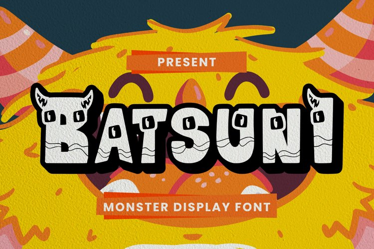 Batsuni Font example image 1
