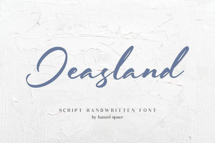 Jeasland Script example image 1