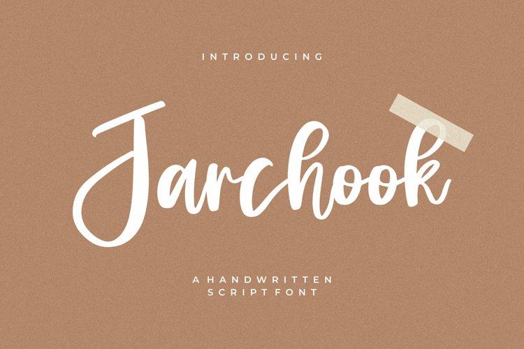 Jarchook - Handwritten Script Font example image 1