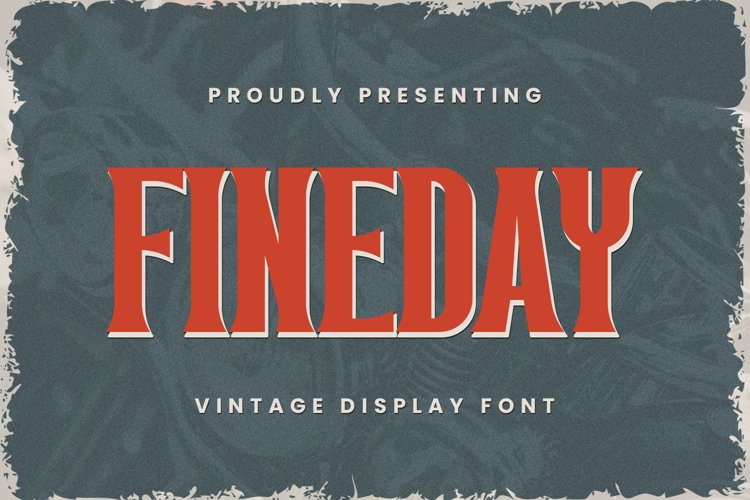 Fineday Font example image 1