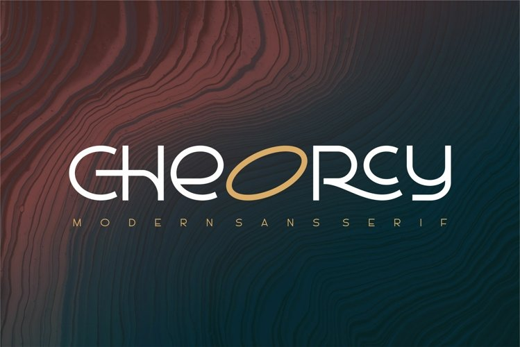 Cheorcy  Modern Sans  example image 1