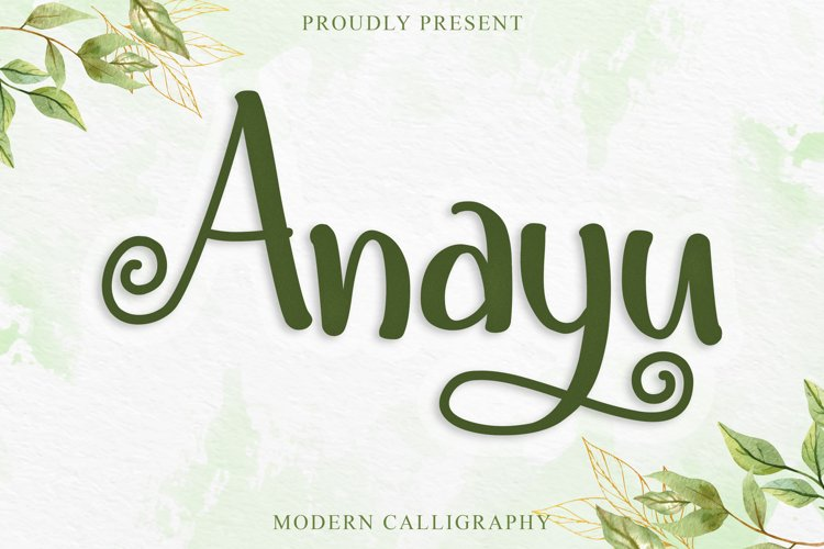 Anayu example image 1