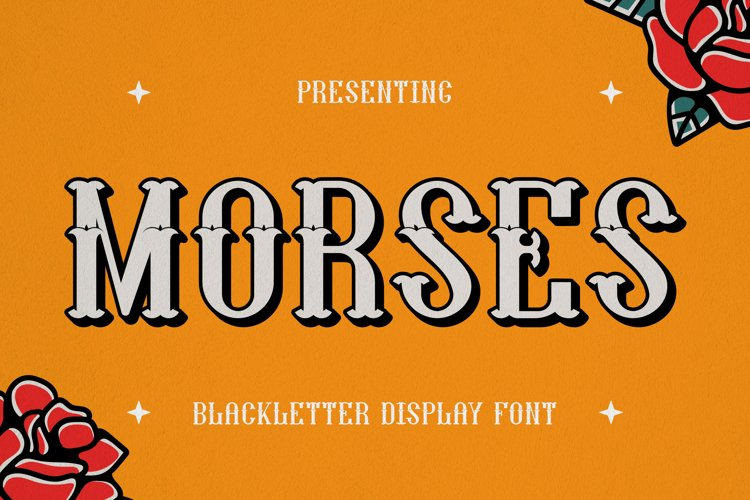Morses Font example image 1