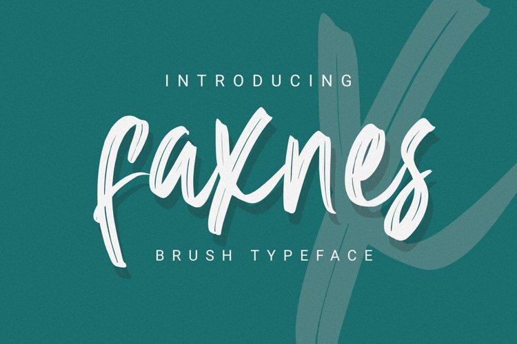 Faknes - Handwritten