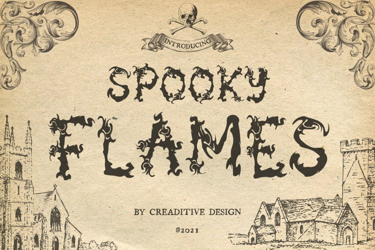 Spooky Flames example image 1