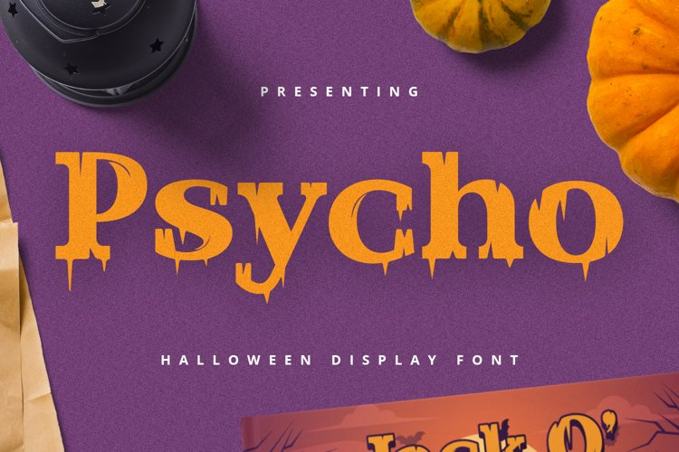PSYCHO Font example image 1
