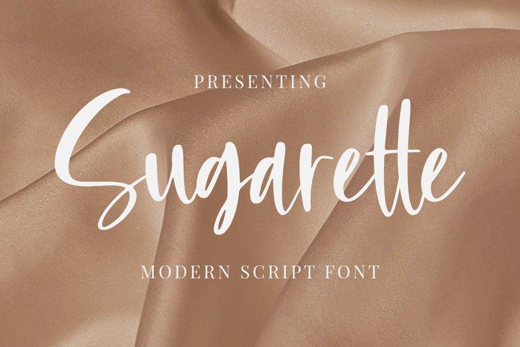 Sugarette Font example image 1