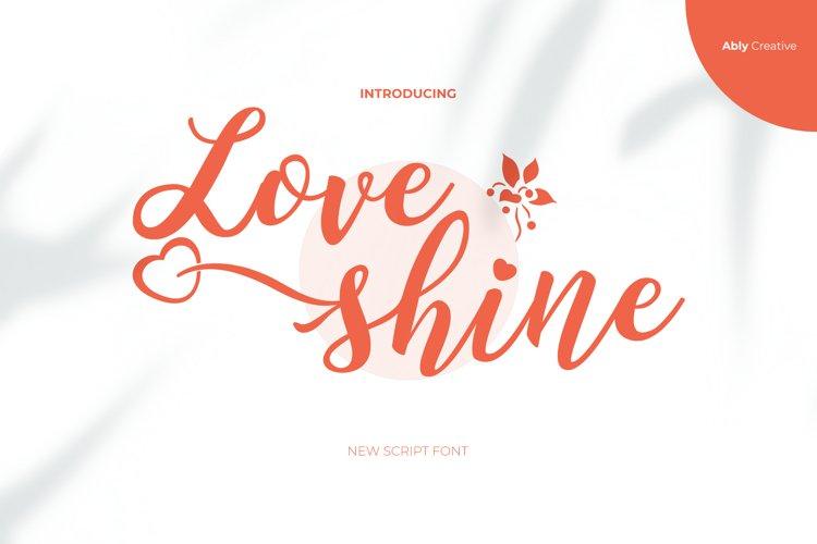 Love Shine example image 1