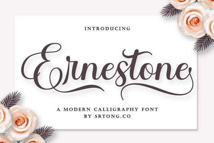 Ernestone Script example image 1