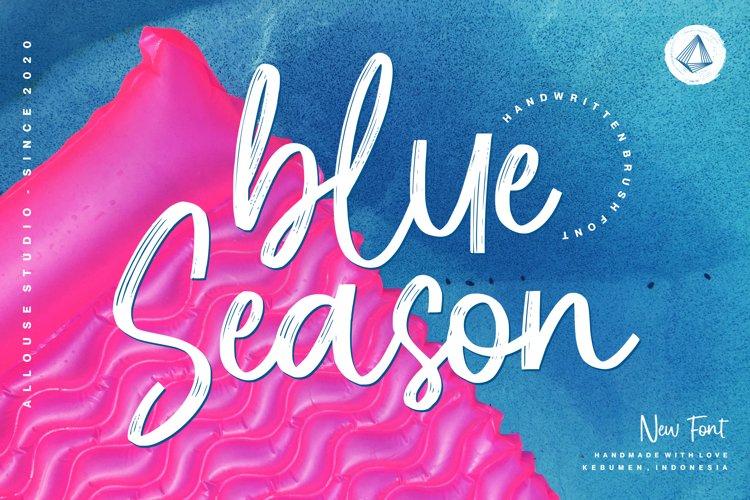 Web Font - Blue Season example image 1