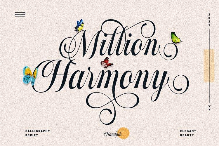 Million Harmony example image 1