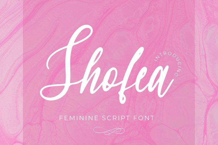 Shofea Font example image 1