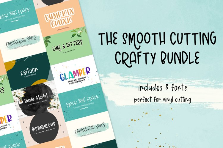 The Smooth Crafting Font Bundle example image 1