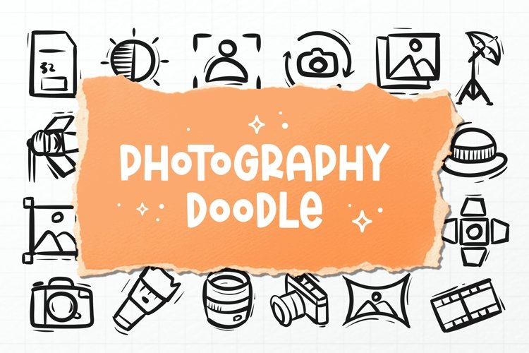 PhotographyDoodle Font example image 1