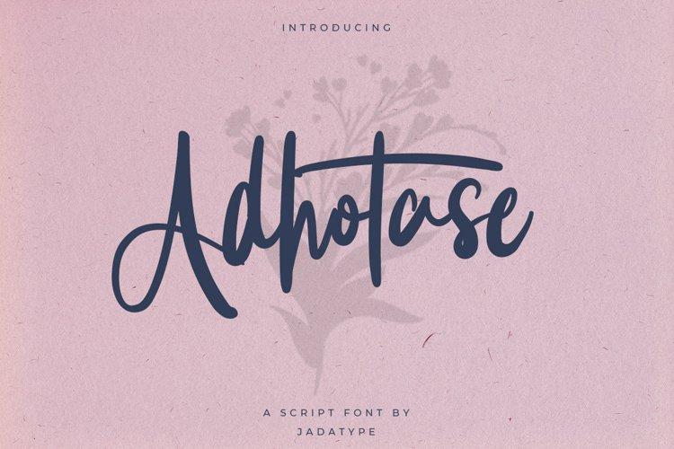 Adhotase example image 1