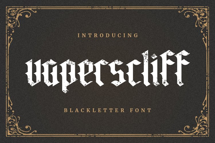 Vaperscliff Font example image 1