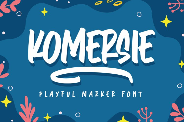 Komersie - Playful Marker example image 1