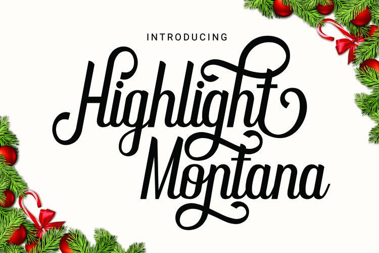 Highlight Montana example image 1