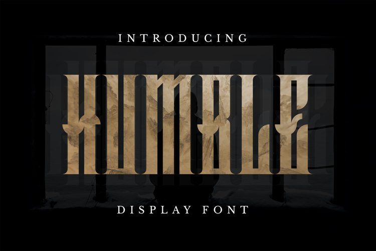 Humble Font example image 1