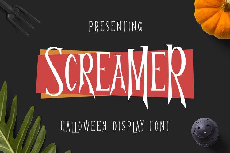 Screamer Font example image 1