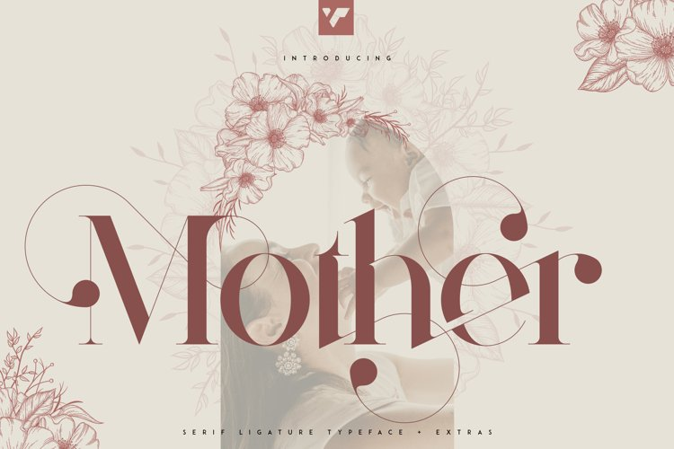 Mother Serif Typeface - 5 weights example image 1