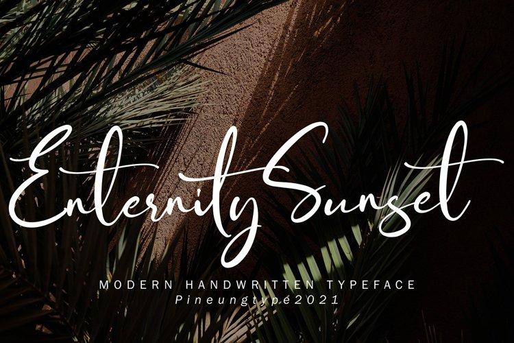 Enternity Sunset example image 1